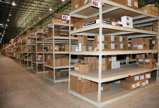 Used Boltless Shelving