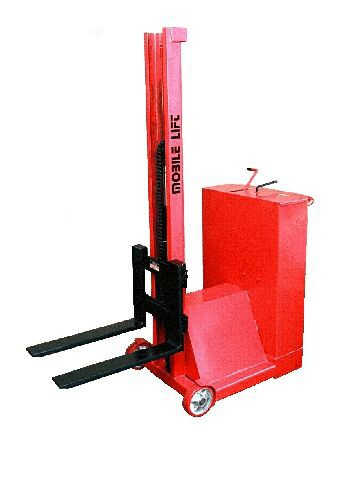 Mobile Counter Balanced Stacker