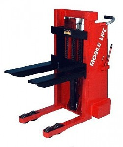 Mobile Shop Lifter Stacker