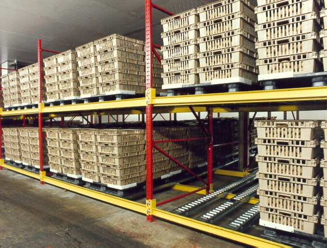 Steel King Pallet Flow Rack