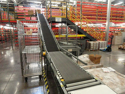 Roller gravity conveyors