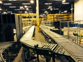 "Used Flexible Conveyor 30"" OAW"