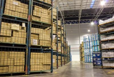 storage capacity warehouse